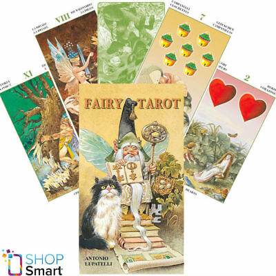 Tarot Of Gnomes Deck Cards Lo Scarabeo Lupatelli Esoteric Fortune Telling New