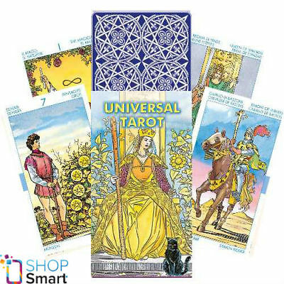 Universal Tarot Cards Deck Lo Scarabeo Esoteric Fortune Telling New