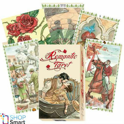 Romantic Tarot Deck Cards Esoteric Fortune Telling Lo Scarabeo New