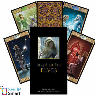 Tarot Of The Elves Deck Cards Esoteric Fortune Telling Lo Scarabeo New