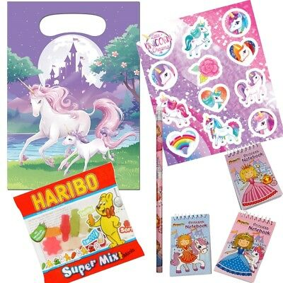 Unicorn Fantasy Themed Pre-Filled Party Bag - Sweets | Stickers | Favours