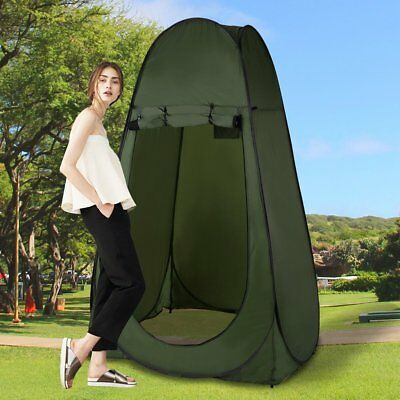 Pop Up Shower Changing Tent Beach Camping Portable Private Outdoor Toilet DE