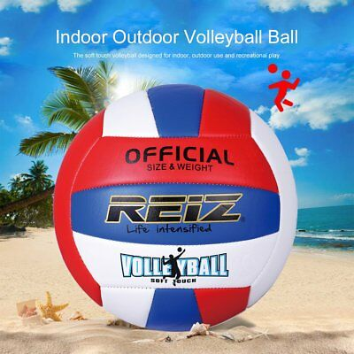 REIZ Professional Soft Volleyball Ball Competition Training Ball Official SiXDE