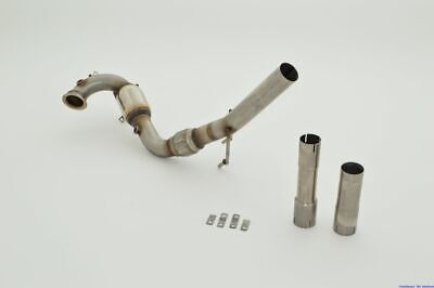 FMS 3 Zoll 76mm Downpipe + HJS-Kat V2A Audi A3 Coupe Quattro (8V) 1.8TFSI 132kW