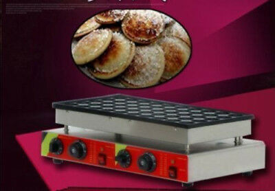 50 holes 110v 220v Electric Dutch Pancakes Poffertjes Maker Machine Baker A