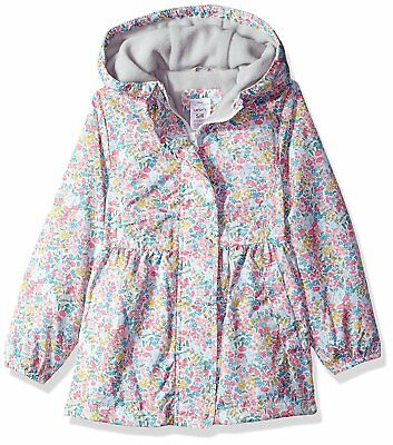 Carter's Baby Toddler Girls' Midweight Fleece Lined Windbreaker, Ditsy Floral,