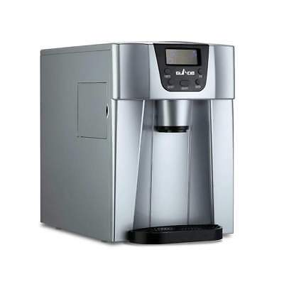 Silver Commercial Portable Water Dispenser Ice Maker Machine Portable