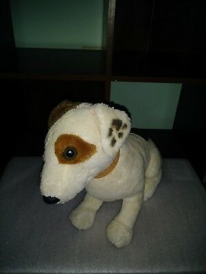 "Wishbone Dog Plush 1996 14"" Tall Jack Russell Terrier W/Tags Talks Squeeze His N"
