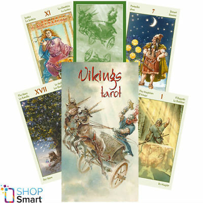 Vikings Tarot Deck Cards Esoteric Fortune Telling Lo Scarabeo New