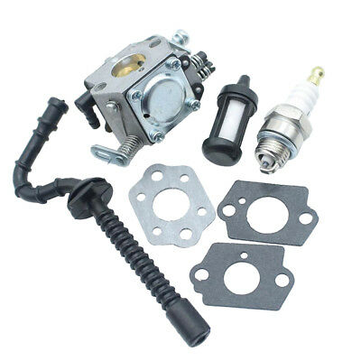 Carburetor For Stihl 021 023 025 MS210 MS230 MS250Carb Fuel Filter Kit Set