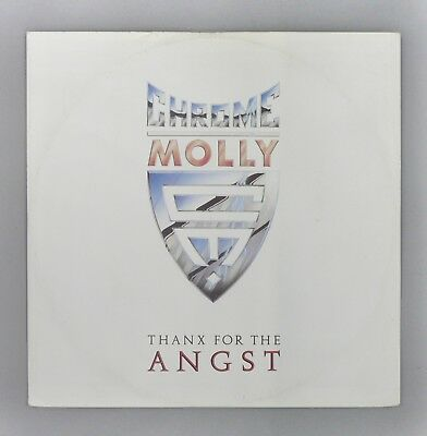 "Chrome Molly - Thanx For The Angst - * SIGNED * - UK 12"" Vinyl Single - IRMT 158"