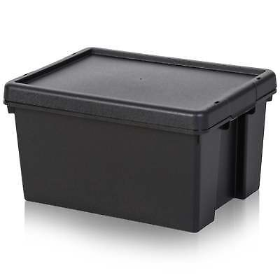 16 Litre Wham Bam Heavy Duty Recycled Plastic Box with Lid