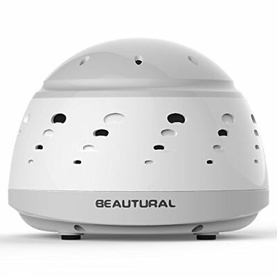 Beautural All-Natural White Noise Sound Generator Machine Sleep Easy Aid Device