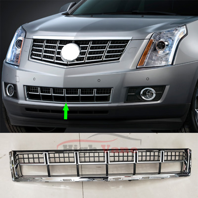 1Pcs For Cadillac SRX 2013-2015 VEHICLE Front Grill Grille Chrome&Black Lower zs