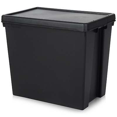 92 Litre Wham Bam Heavy Duty Recycled Plastic Box with Lid