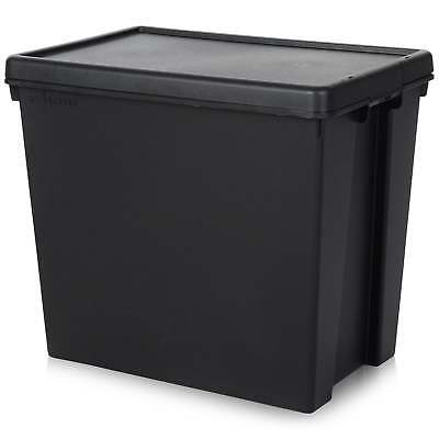 Wham Storage 92 Litre Wham Bam Heavy Duty Recycled Plastic Box with Lid