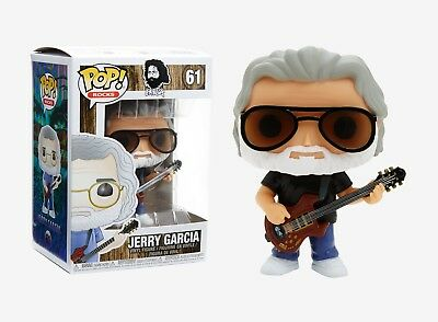 Funko Pop Rocks: Jerry Garcia Vinyl Figure Item No. 24528
