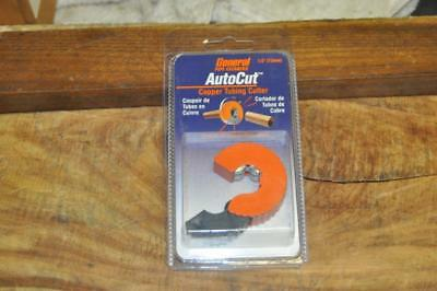 General Pipe Cleaners ATC12 1/2-Inch AutoCut Copper Tubing Cutter NEW