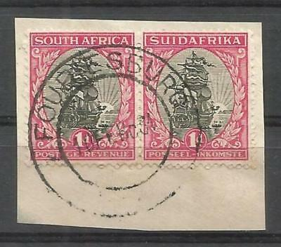 Union of South Africa Postmark Fouruesburg OFS 10.02.1934 small piece