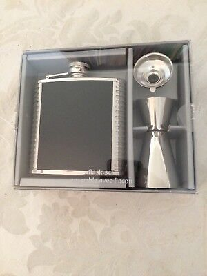 Flask Set 3 pieces boxed