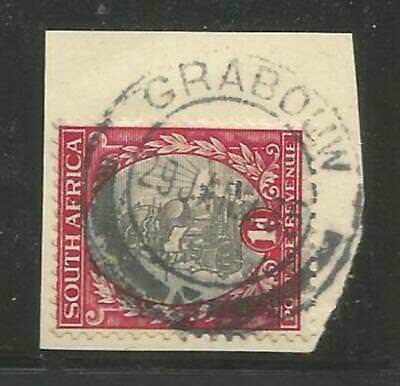 Union of South Africa Postmark Grabouw Cape 29.01.1935