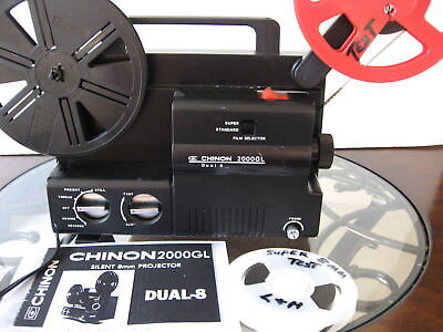 Reg 8mm/Super 8 Vari-Spd  Projector--  Film Tested!