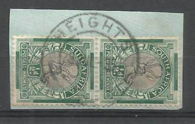 Union of South Africa Postmark Heights Cape 29.07.1935 on small piece