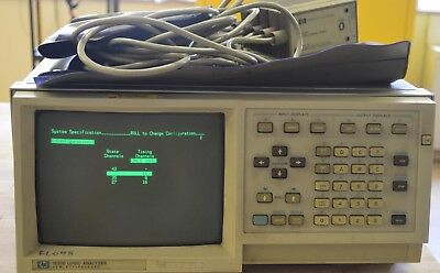 Hp Agilent 1630D Logic Analyzer w/ 5 Probes and a Set of 7 DAQ Probes