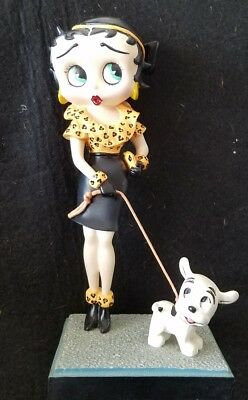 BETTY BOOP Figurine Danbury Mint OUT FOR A STROLL ☆ excellent ☆☆☆☆☆☆☆