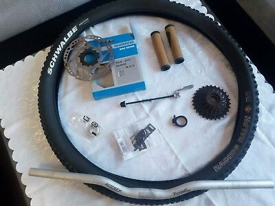 Mountainbike Lenker ritchey rizer und andere Mtb Teile