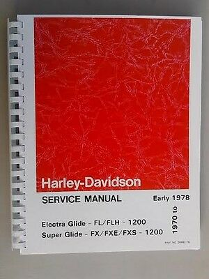 Harley fl flh service manual 1959 to 1969 panhead shovelhead 1970 1978 harley shovelhead service manual electra glide super glide fl flh fxe sciox Gallery