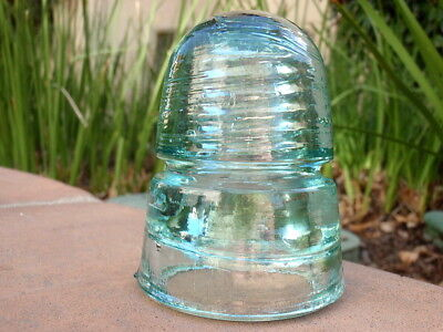 "EXCEPTIONAL- CD 145 UNEMBOSSED ""GRAND CANYON"" Western Beehive Insulator"