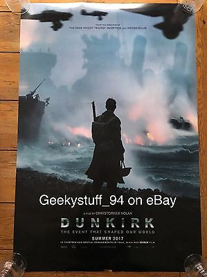 Dunkirk DS Theatrical Movie Poster. 27x40