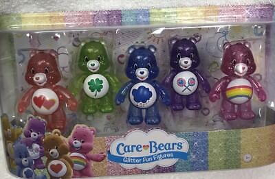 Brand New Care Bears Five Pack Glitter Fun