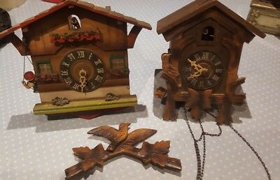Vintage Cuckoo Clocks. Spares And Repairs