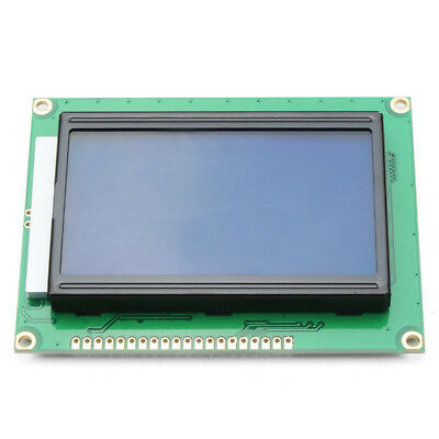 3Pcs 12864 128 x 64 Graphic Symbol Font LCD Display Module Blue Backlight For A