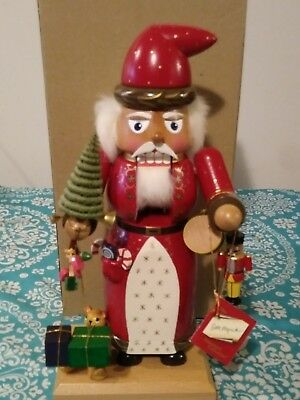 1995 EM Merck Old World Christmas Father Christmas with Toys, Tree, Signed.