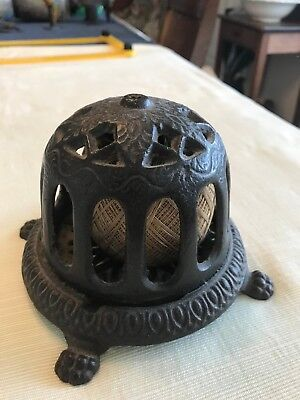 ** Antique Cast Iron General Store Counter Top String Holder