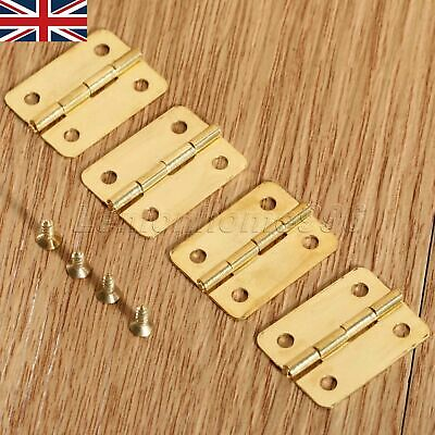 Small Hinges Jewellery Box Tiny Trinket Miniature Furniture Cabinet Hinges UK