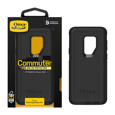 Samsung Galaxy S9+ Plus OtterBox Commuter Series Case Cover OEM!! Black 77-58014