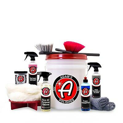 adams polishes  ADAM'S POLISHES ADAM'S Daily Driver Detailing Kit - $129.99 | PicClick