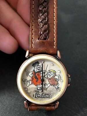 *Rare* Limited Edition The Flintstones Lunchbox Fossil Watch + Free Shipping