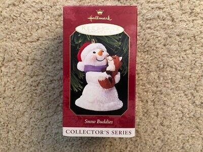 1999 Hallmark Keepsake Ornament: SNOW BUDDIES #2 in the Series  MIB