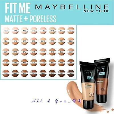 Maybelline Foundation Fit Me Matte & Poreless 30 ml