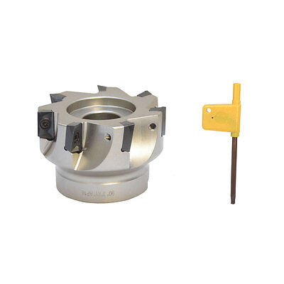 3'' x 1'' 90 Degree Indexable Face Mill Cutter Use APMT APKT CNC machining