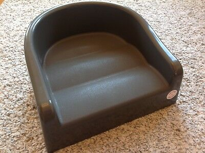 Prince Lionheart Booster Seat Dining Chair Infant Toddler Dark Gray EXC!