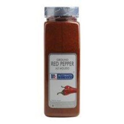 McCormick Ground Red Pepper - 1 lb. container, 6 per case