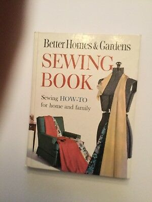 Better Homes & Gardens SEWING BOOK How-to for home and family 1961 Hardcover