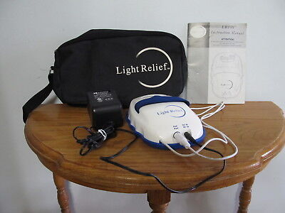 Light Relief LR150 Infrared Joint Muscle Pain Reliever Therapy Device & Case