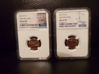 "2017 225th Anniversary P Cent ""First Releases"" ""NGC MS66""""LOW POP""""Read Details"""